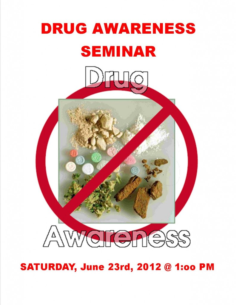 DRUG AWARENESS SEMINAR