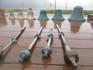 King Cove Helps with Construction of Elders' Tower, Installation of Bells at St. Herman Church