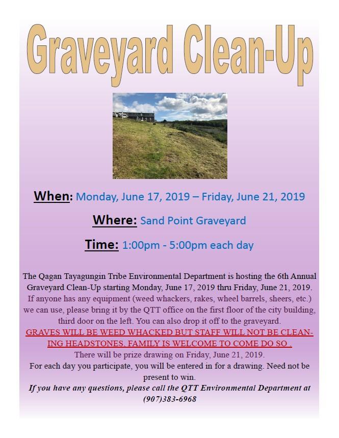 Graveyard Cleanup